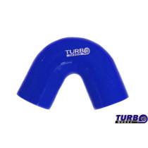 Szilikon könyök TurboWorks Kék 135 fok 63mm